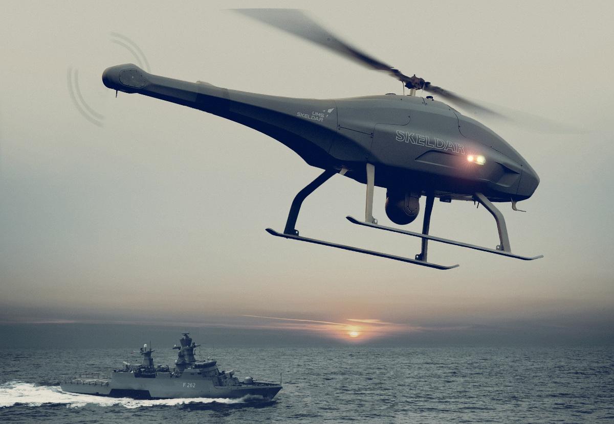 Eying bullish naval market, Swiss-Swedish drone maker buys German engine specialist