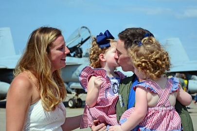 Paternity leave doesn't mean a paid vacation. (Navy)