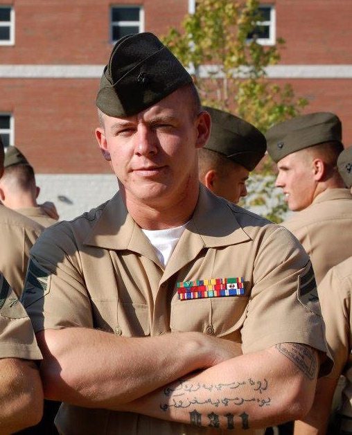 Tough tattoo regs sink stellar Marine's career
