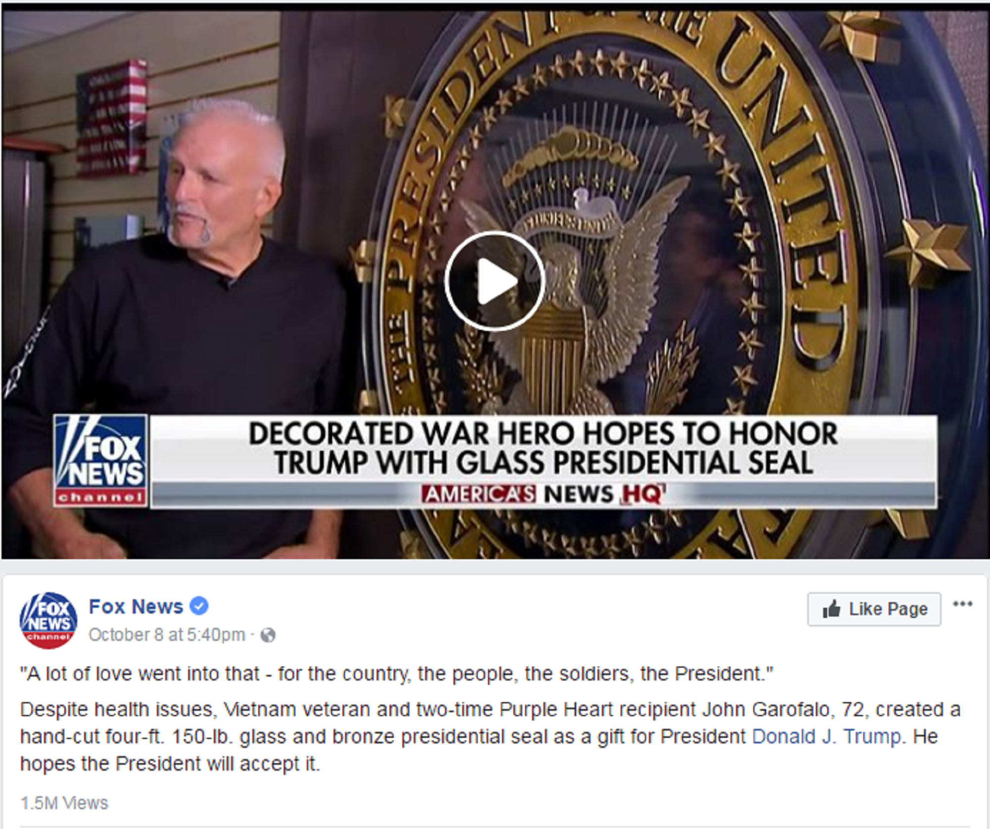 FAKER! Man admits he lied to Fox News about Navy SEAL service