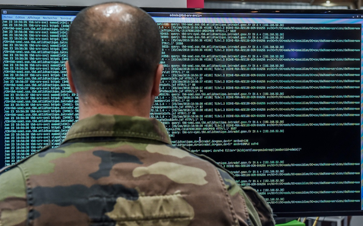 Cyber forces of the future might need to exploit the electromagnetic spectrum to get at targets not connected to traditional networks. (PHILIPPE HUGUEN/AFP/Getty Images)