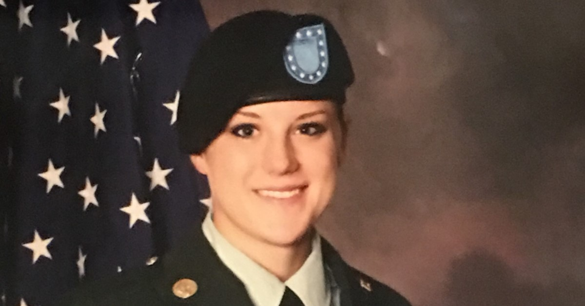 Sgt. Christina Marie Schoenecker of Arlington, Kan., died Feb. 19 in Baghdad, Iraq, from a non-combat related incident. (Courtesy photo)