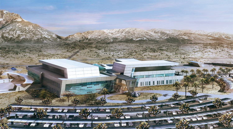 Fort Irwin just opened the Defense Department's most environmentally friendly hospital
