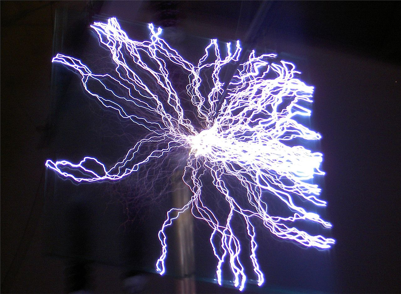 Stun guns work by discharging a large voltage of electricity into a person in close proximity, Laser weapons, meanwhile, need some distance between the laser and the human target in order to not violate treaties on blinding weapons. (Matthias Zepper via Wikimedia Commons (CC BY-SA 2.5))