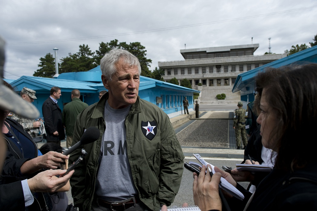 Former SecDef Hagel: North Korea bloody nose strike a 'gamble' he wouldn't make