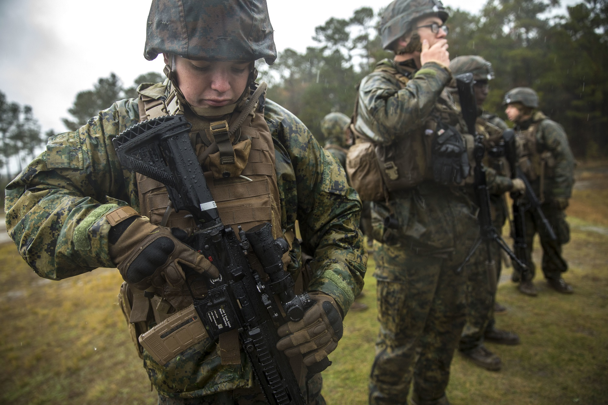 Congress could pump the brakes on fully funding the Corps' M27 purchases