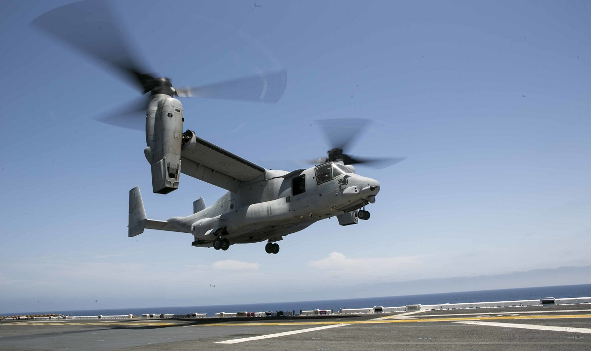 Massive search and rescue operation underway for 13th MEU Marine reported overboard