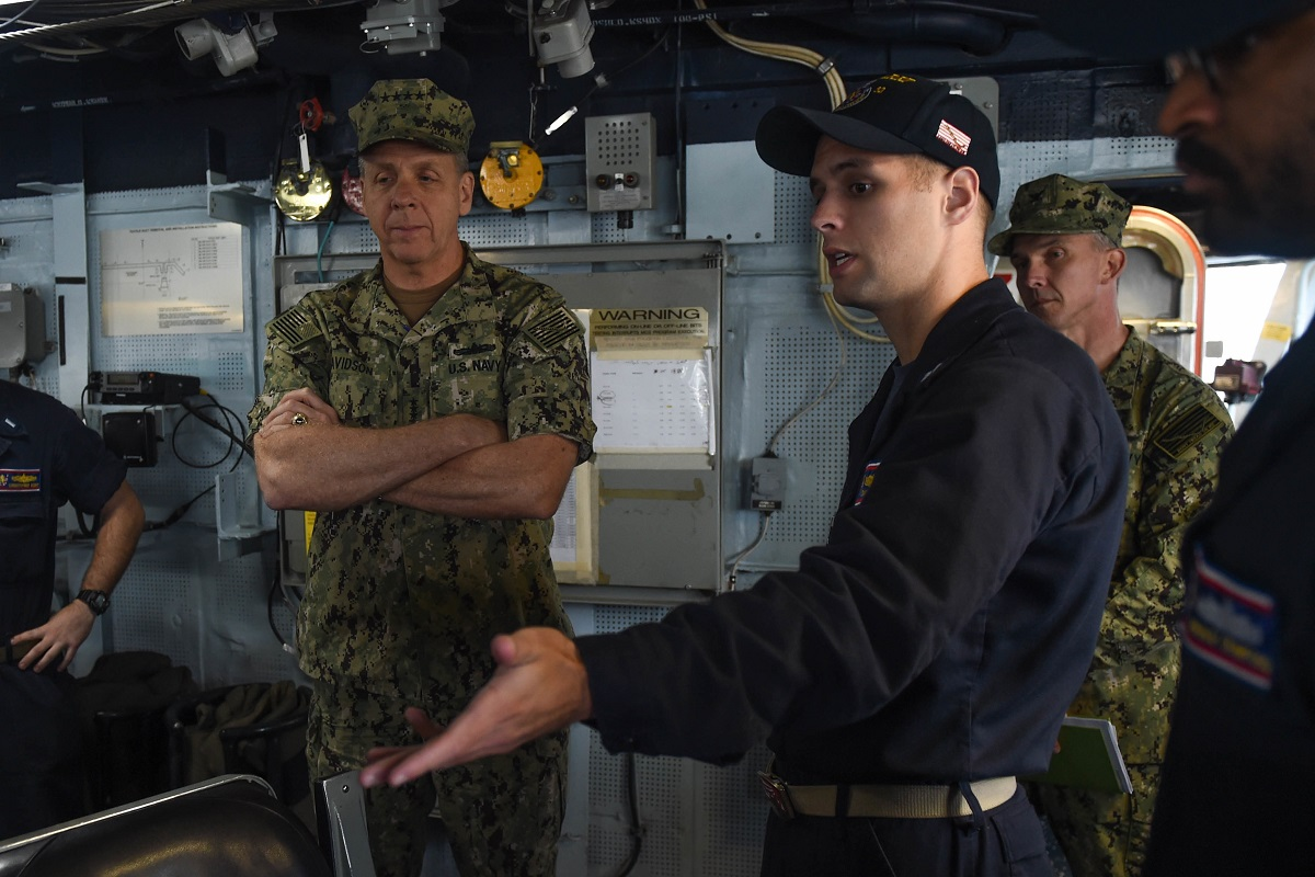 Sailors must 'be able to handle fatigue,' top admiral says