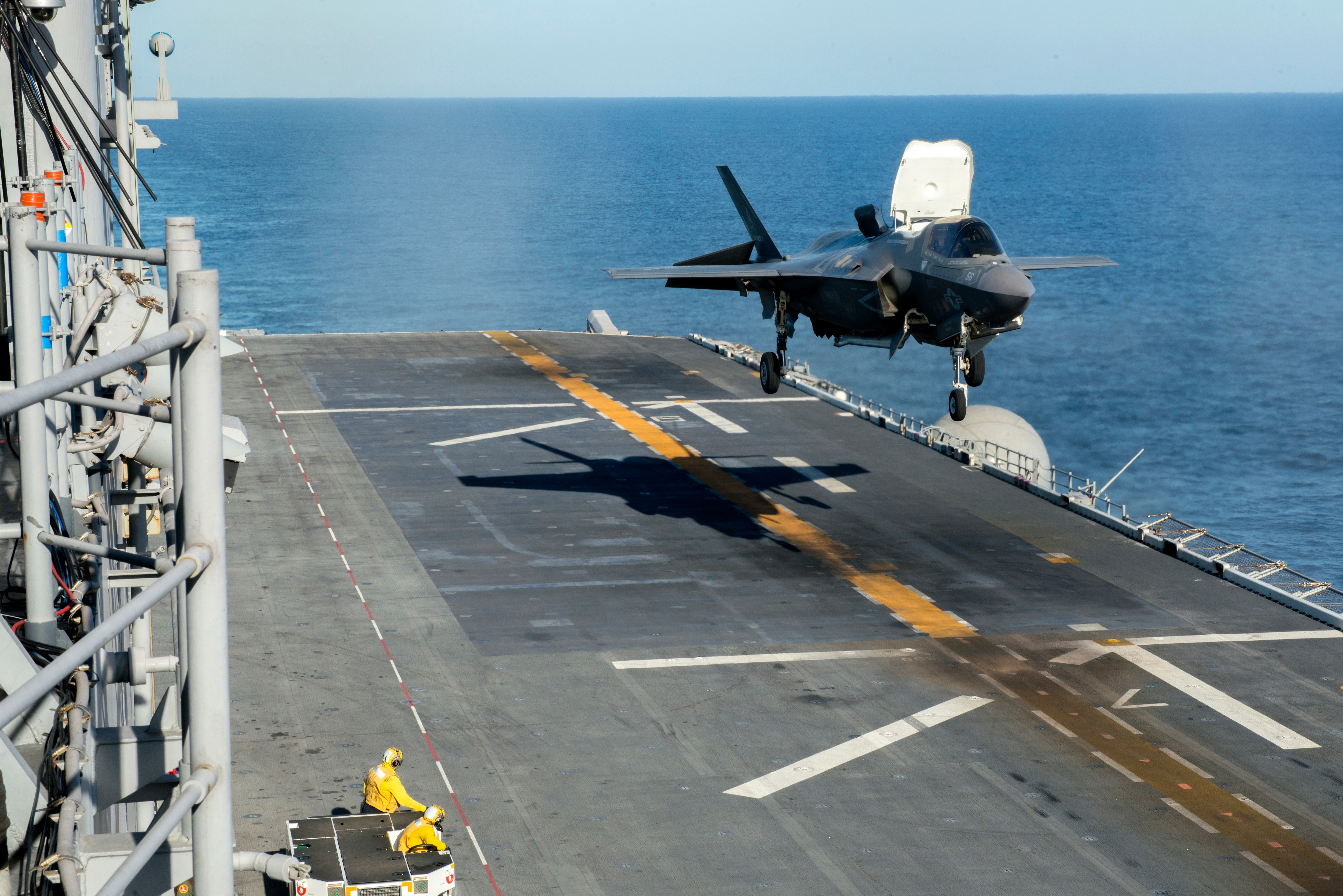 US Marine F-35B Fighter Jet Deployment Onboard British Warship Made Official