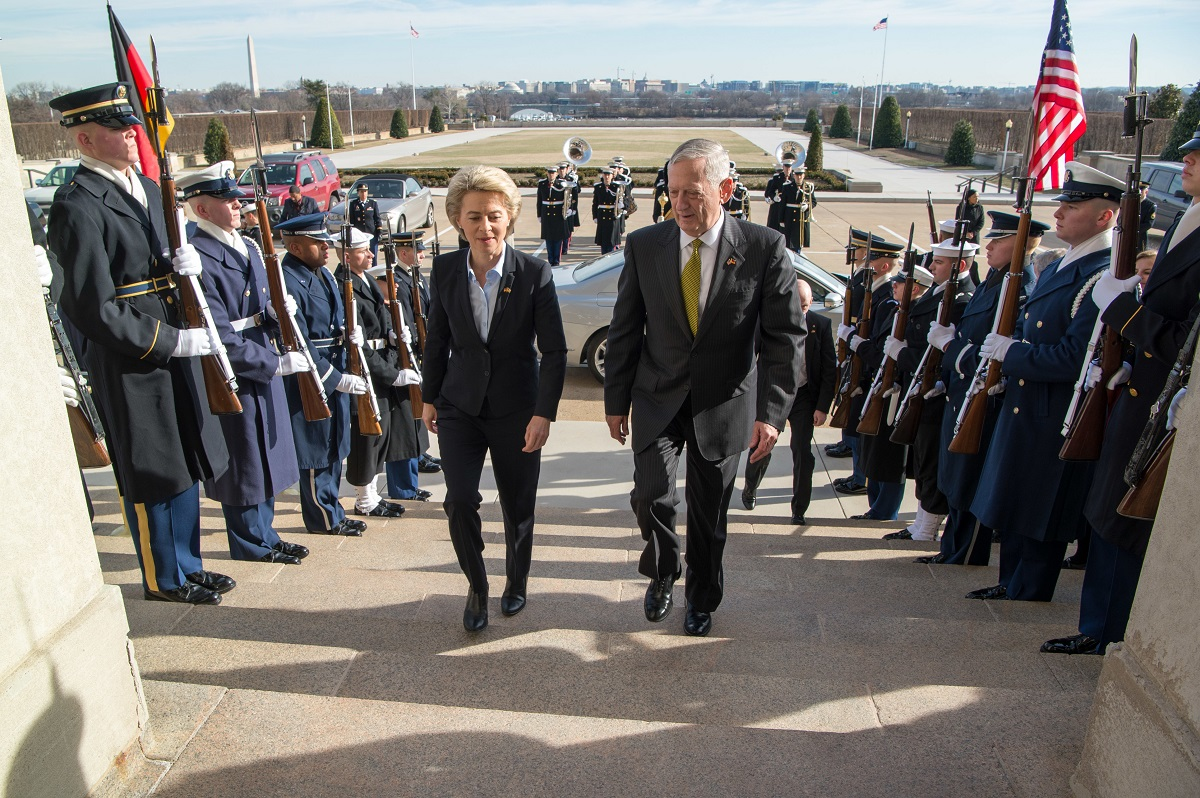 The case of Germany could test Mattis' standing with Trump