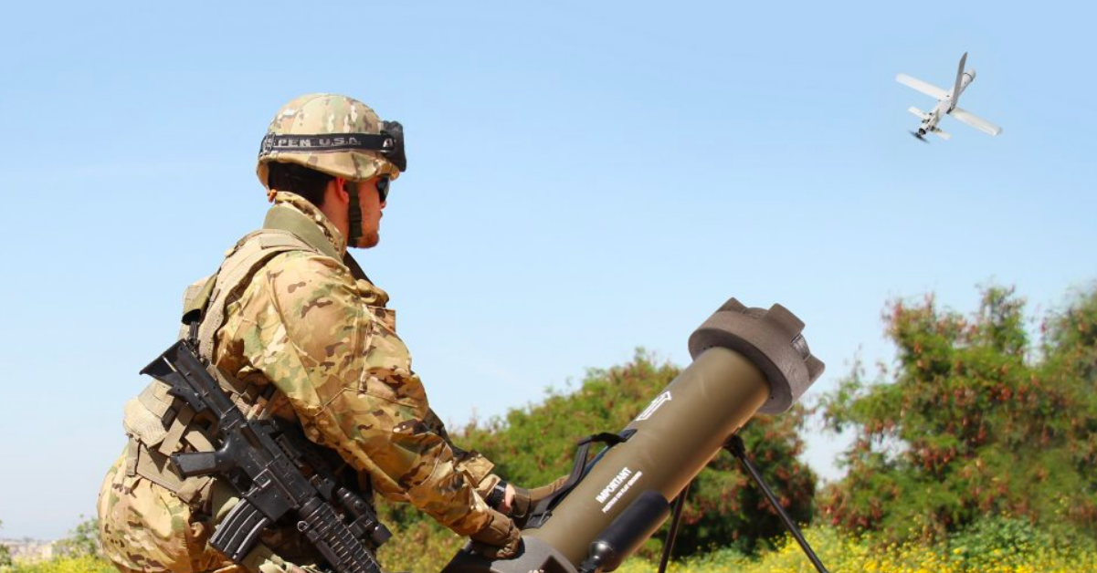 The Hero-30 can be deployed by air, land or canister. (UVision)