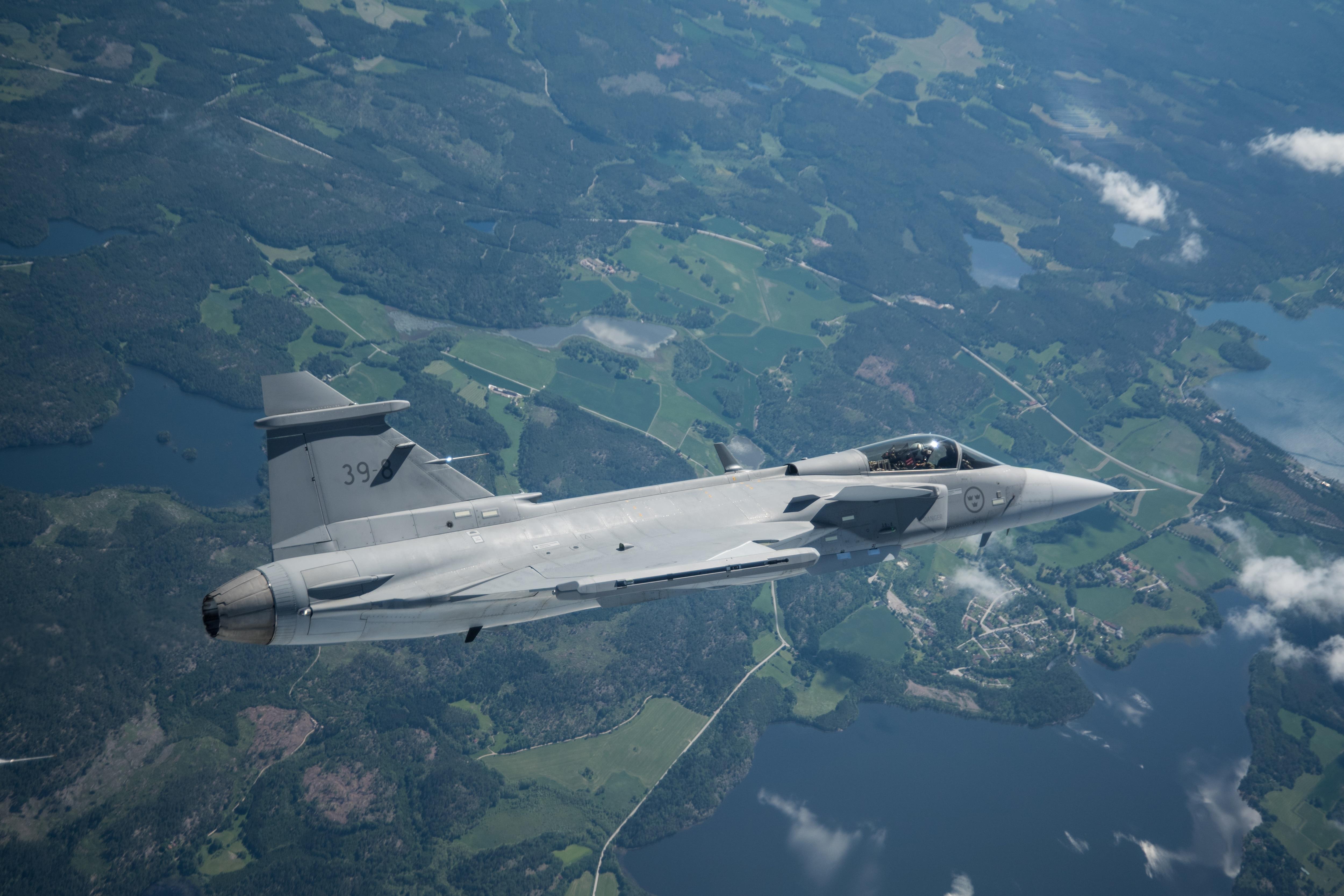 Sweden pulls out of Belgian fighter battle