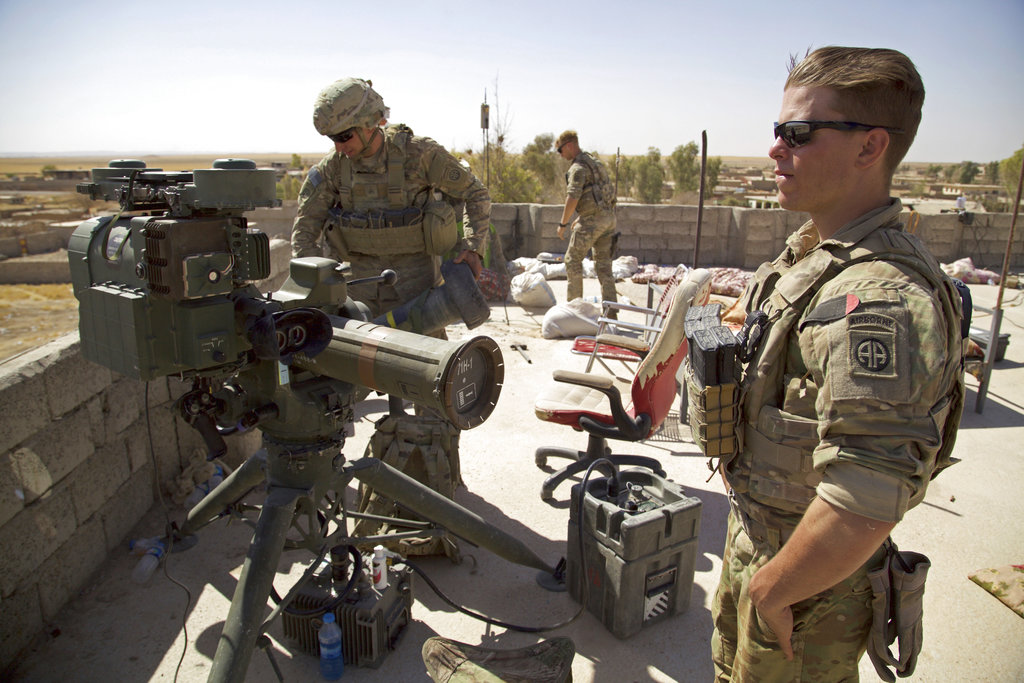 US forces on guard in Iraq, even as troop levels are expected to decline