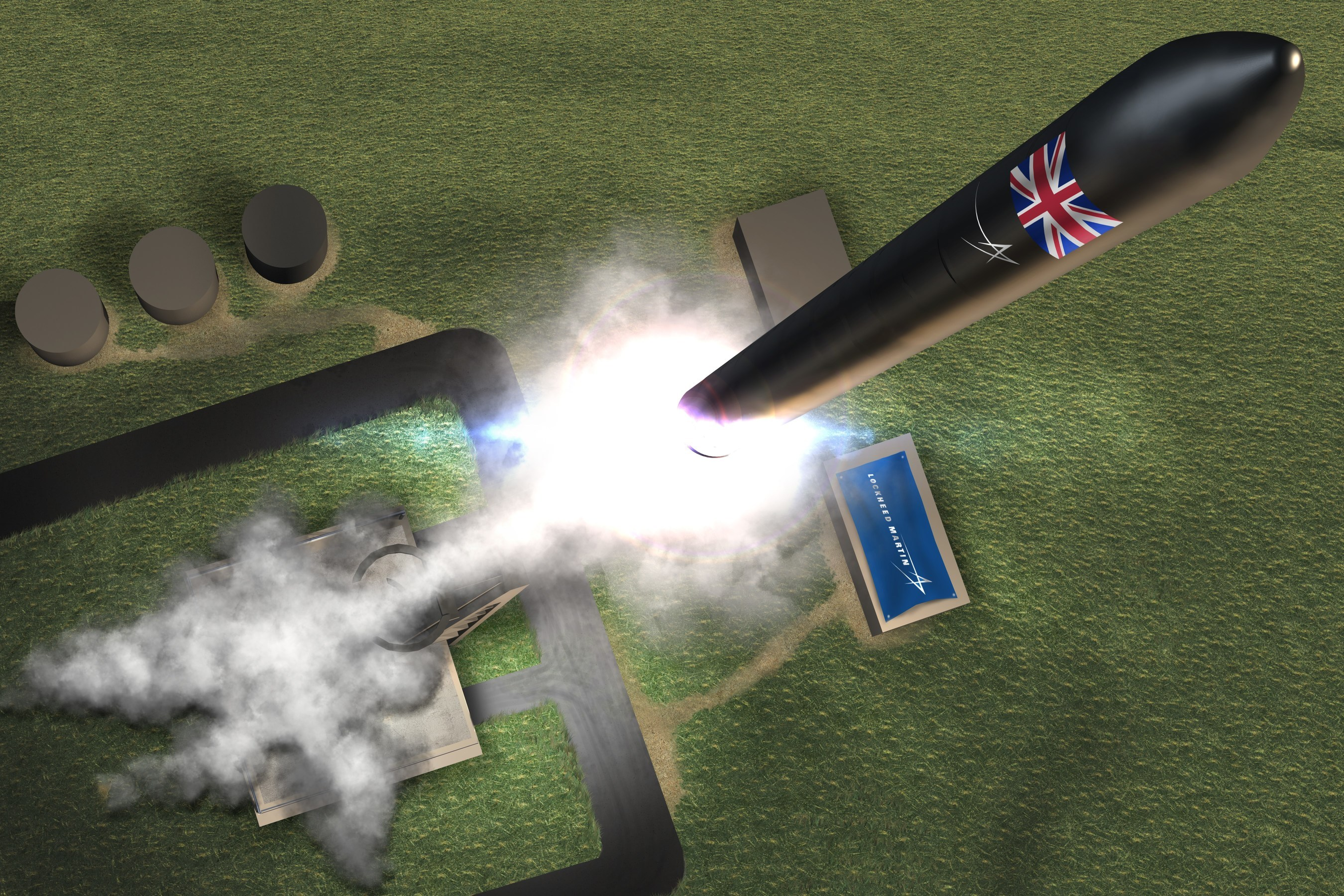 Lockheed selected to build first UK spaceport