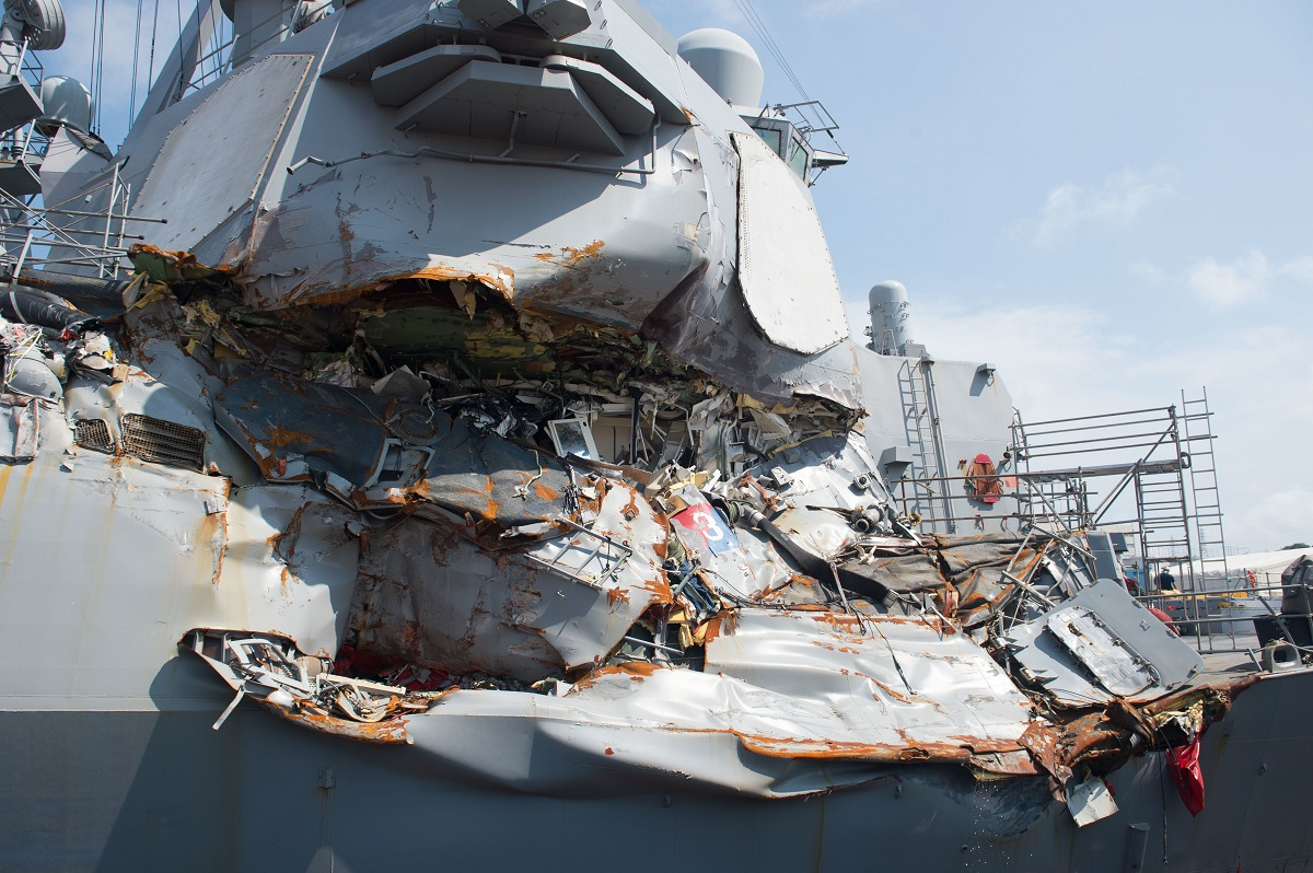 Secrecy and uncertainty surrounds Navy discipline for fatal ship collisions
