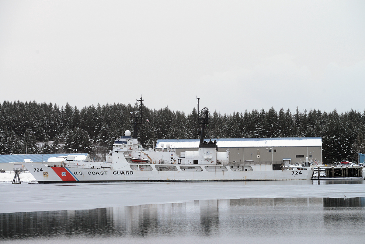 Coast Guard says Alaska to homeport 6 fast response cutters
