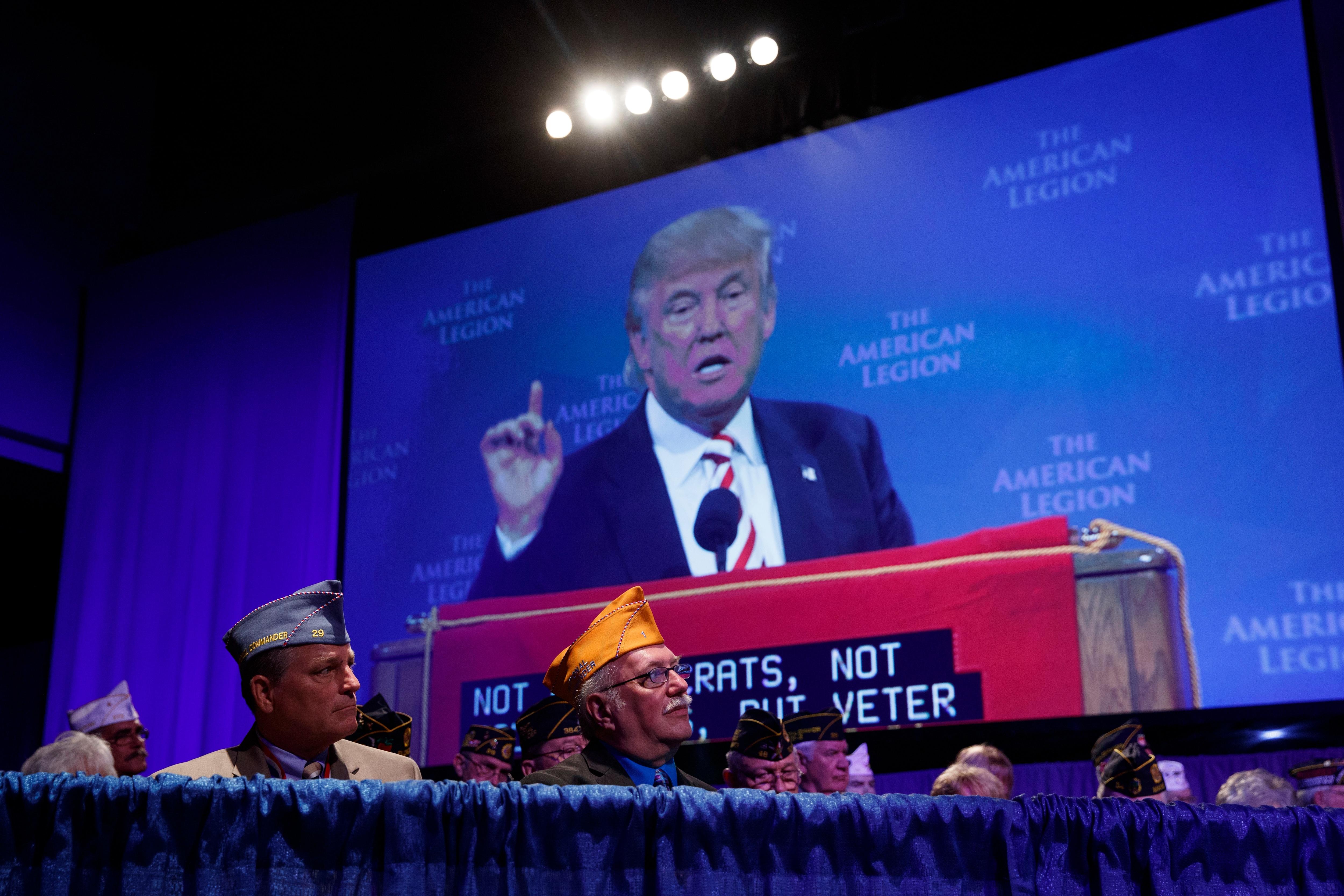 American Legion blasts Trump budget as 'stealth privatization' of VA