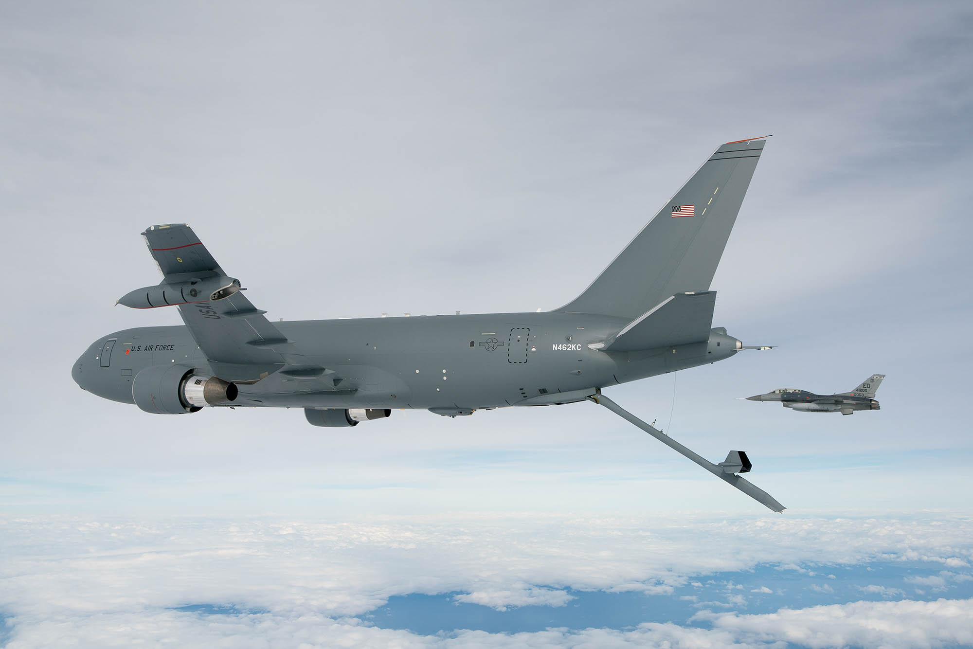 KC-46 tanker completes electromagnetic tests