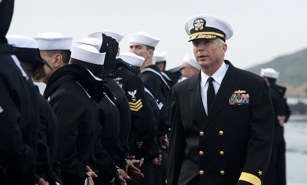 Vice Adm. Craig Faller (shown here in 2012 as a Rear Admiral) will go before the Senate Armed Services Committee this week for a confirmation hearing to become the next leader of U.S. Southern Command. (Petty Officer 3rd Class Kenneth Abbate/Navy)