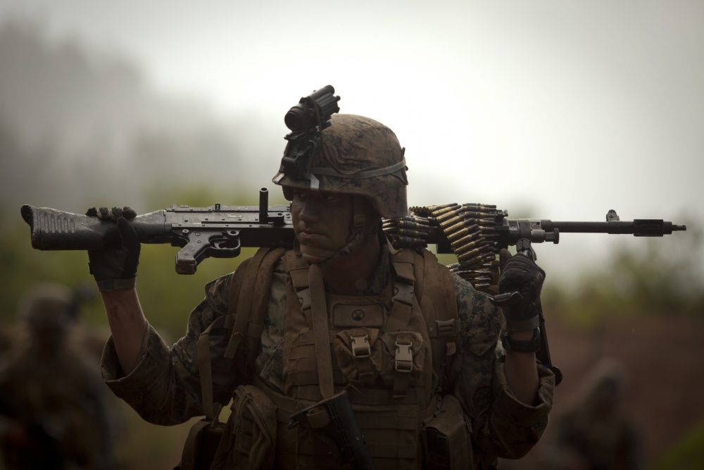 Top Marine wants to lighten the weight carried by grunts