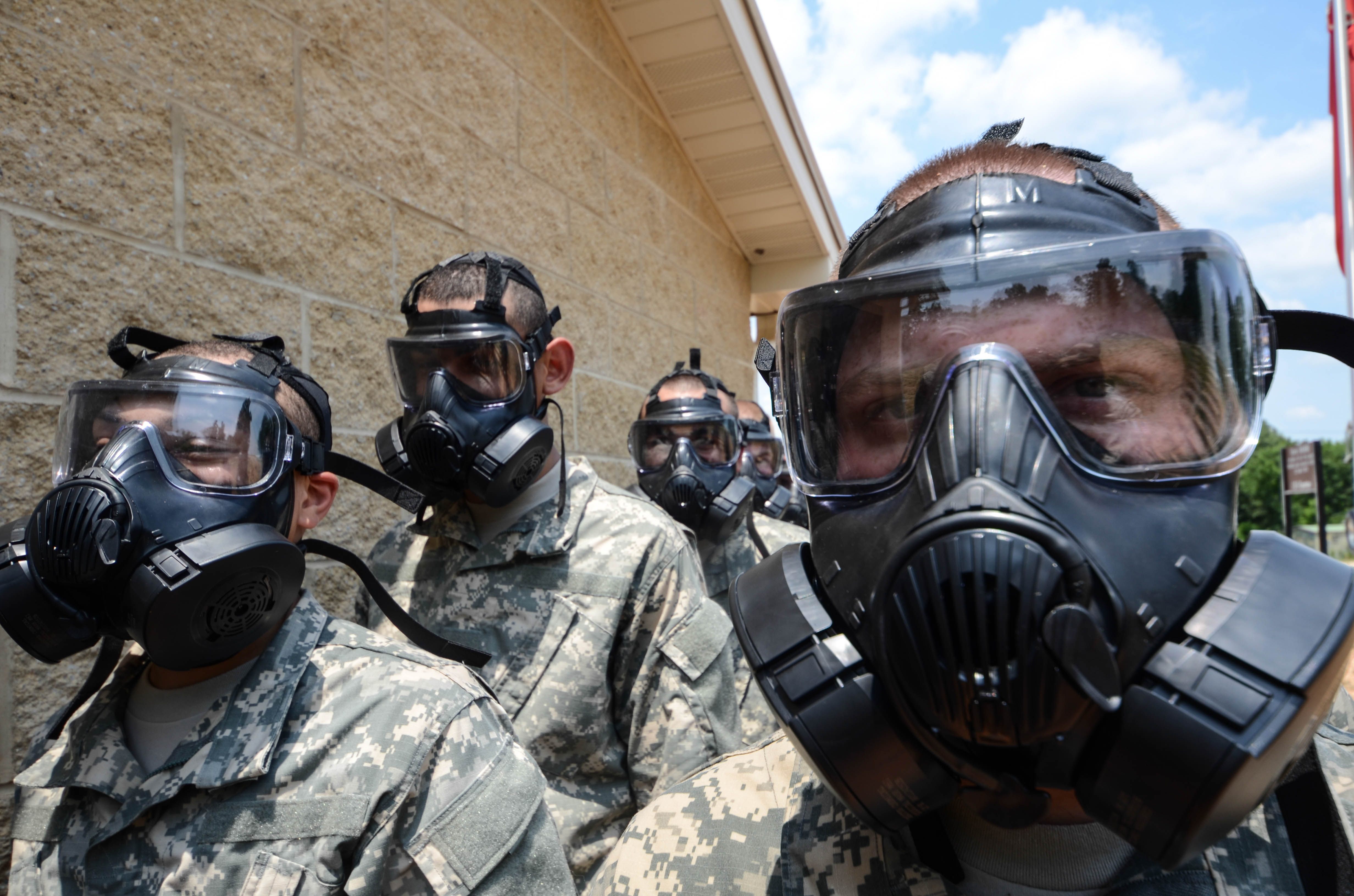 The makers of the Army's gas mask are looking into beard-friendly options