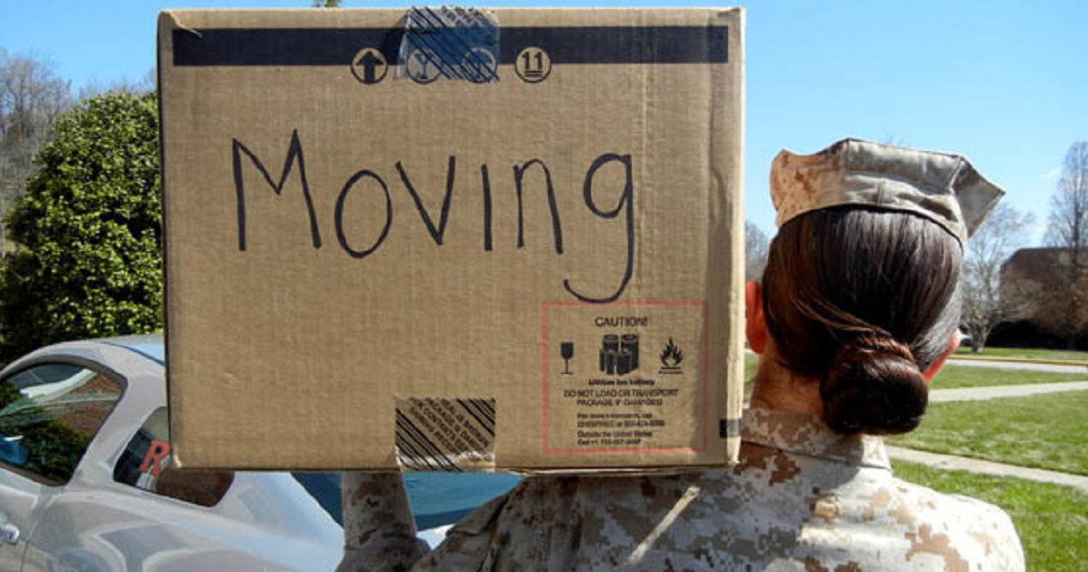 The service branches are looking at solutions to lessen the disruption of frequent military moves. (Ameesha Felton/Marine Corps)