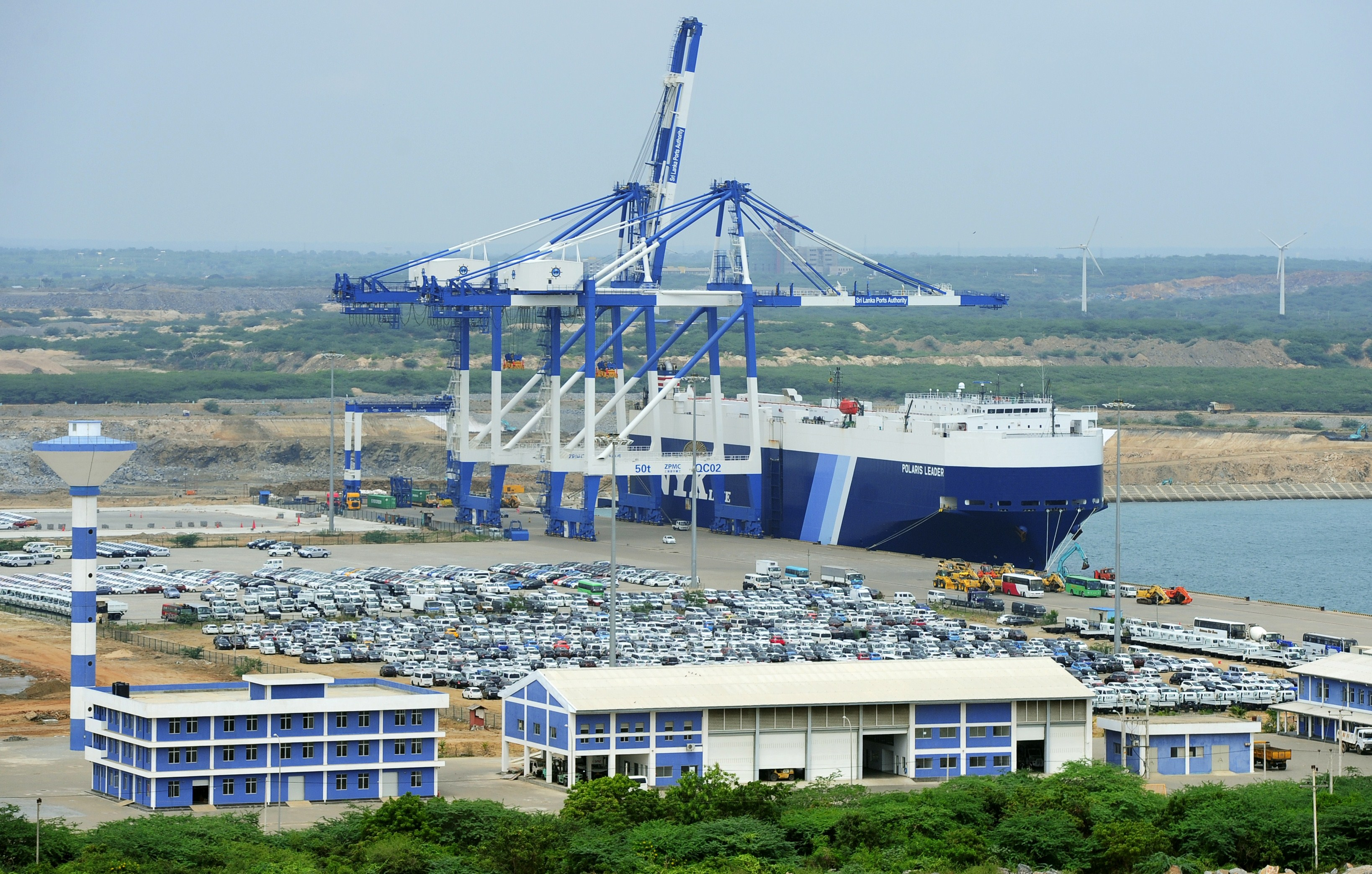 Sri Lanka cedes major port to China, fueling tensions