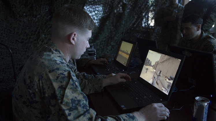 'Video game warfighting' helps squad leaders virtually prepare Marines for battle