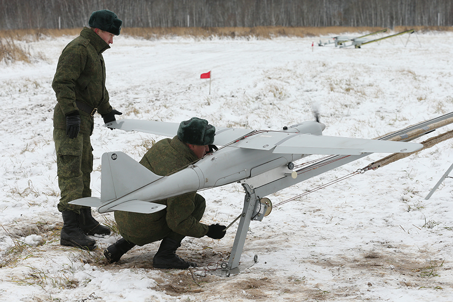 Drones may be a precursor to plans for autonomous weapon systems. More robots, including some with autonomous targeting capabilities and carrying weapons, are likely to be built and possibly even fielded. (Ministry of Defense, Russian Federation)