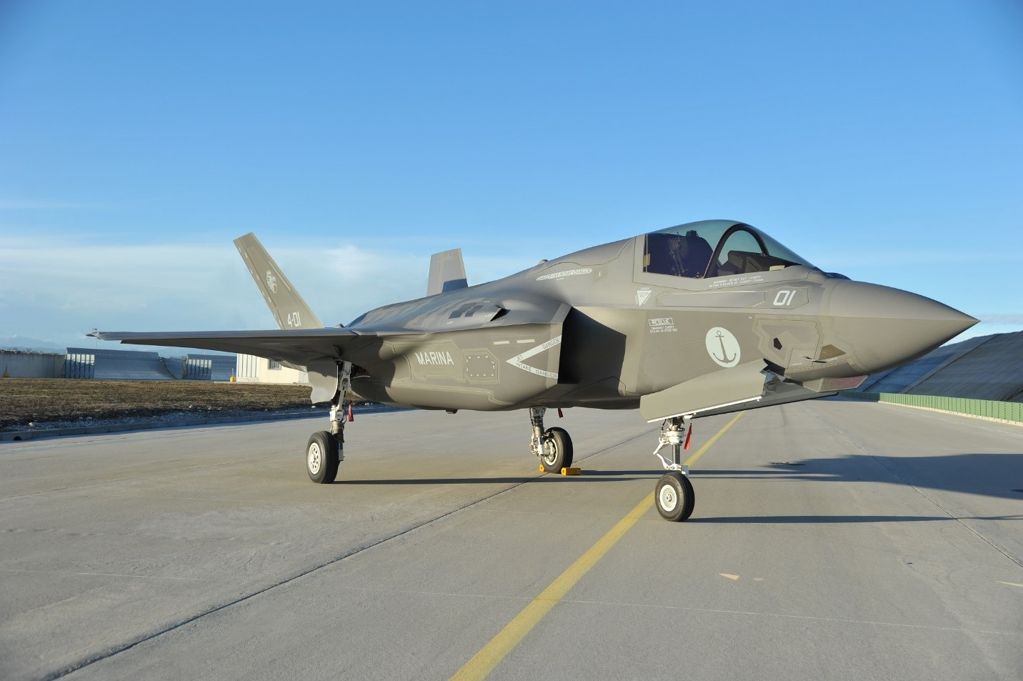 Italy receives first F-35B assembled outside the US