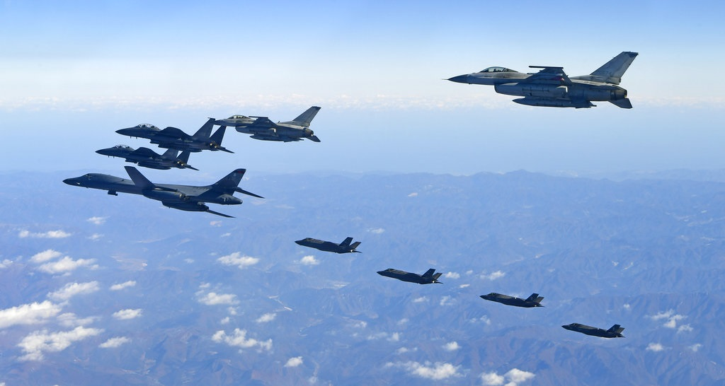 US flies B-1B over South Korea in show of force against North