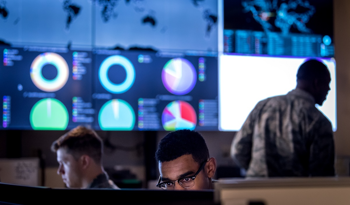 The project will support the Air Force's portion of Cyber Command's cyber teams. (U.S. Air Force photo by J.M. Eddins Jr.)