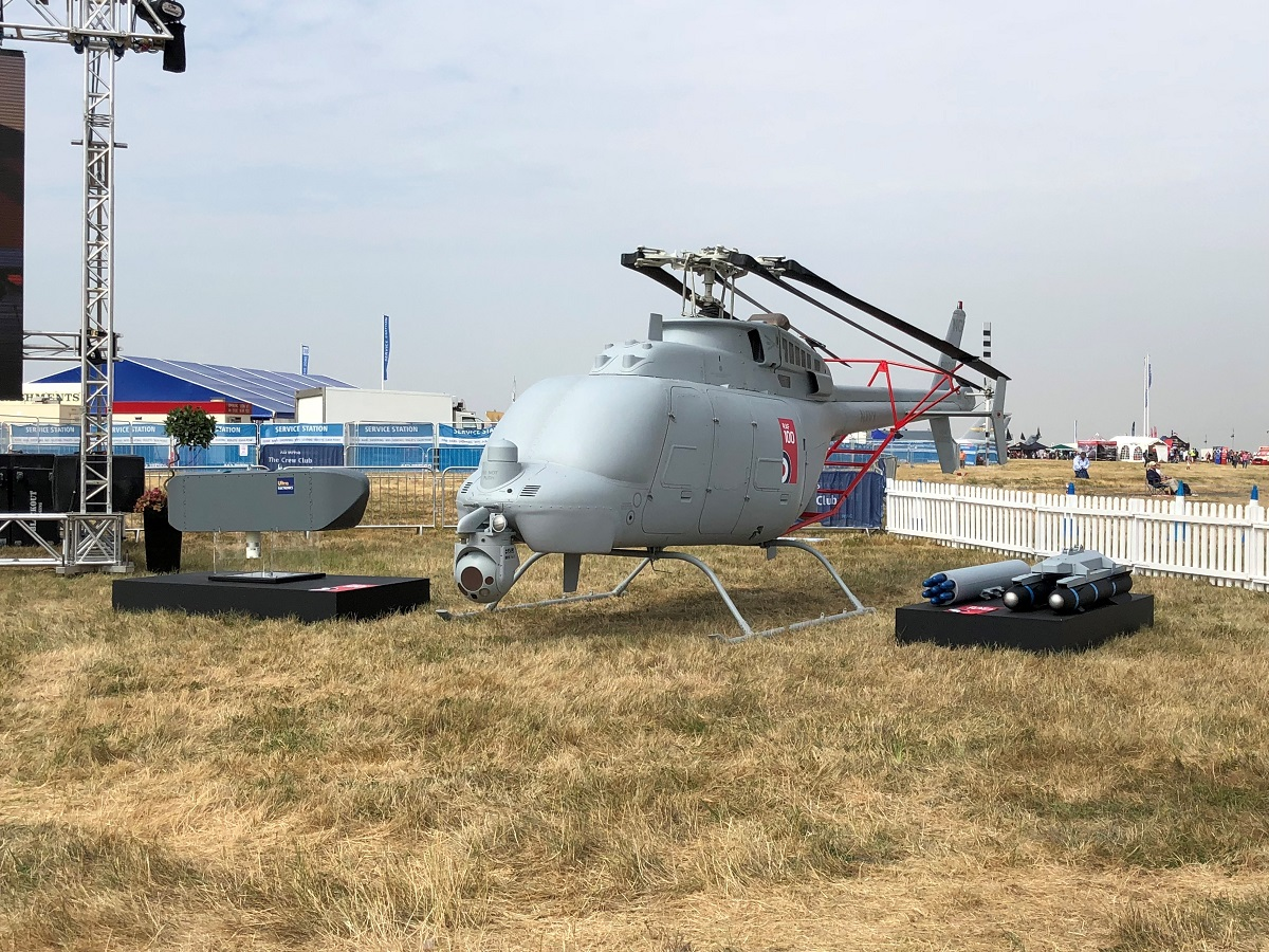 Northrop's Fire Scout drone gets a new look for its European debut