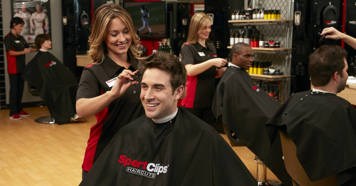 Founded by Air Force vet Gordon Logan in 1993, Sport Clips has grown into one of the country's biggest hair salons. (Sport Clips)