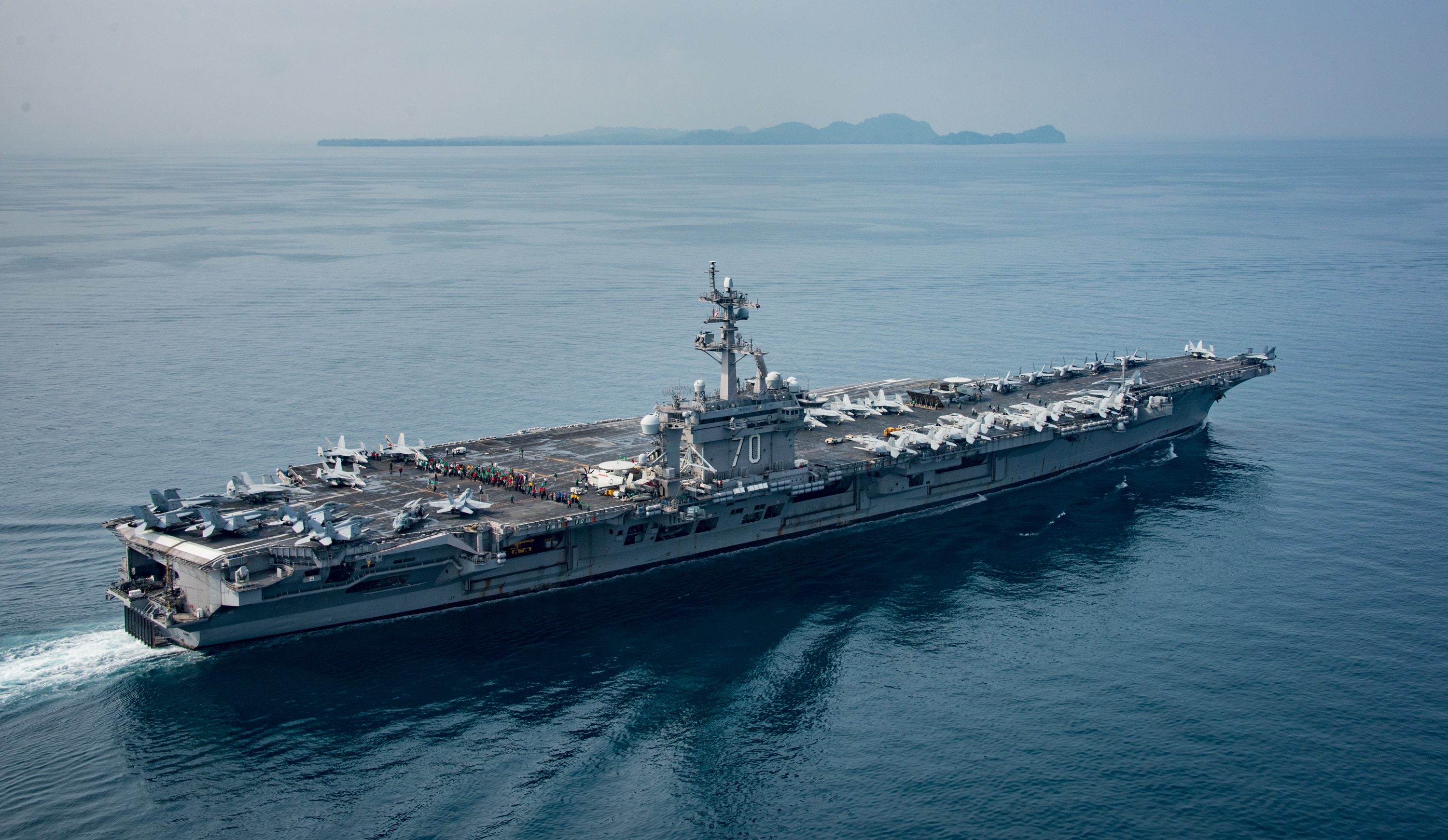 Nothing to see here: US carrier still thousands of miles from Korea