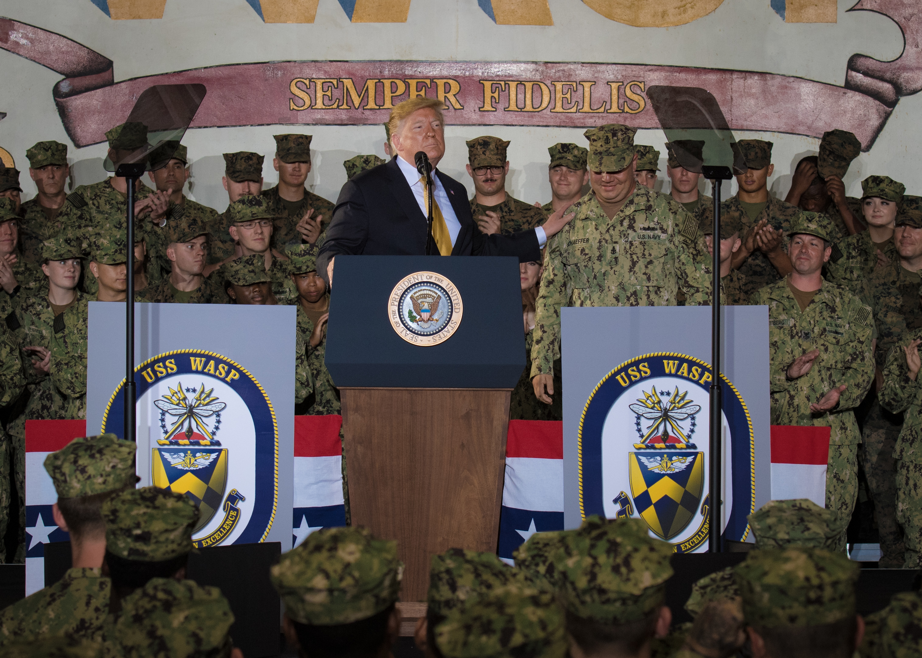 Who will President Trump pick to be the next Defense Secretary? (Mass Communication Specialist 1st Class Alexandra Seeley/Navy)