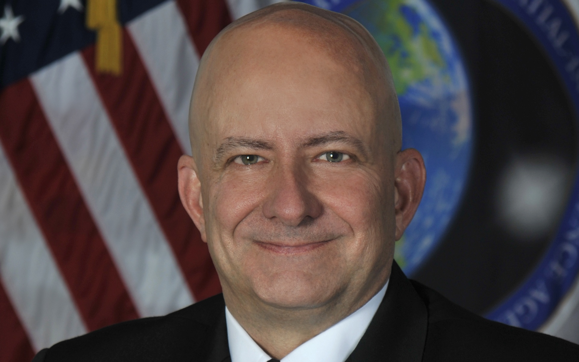 Vice Adm. Robert Sharp, director of the National Geospatial-Intelligence Agency, shares his thoughts on how the agency is adapting to an evolving mission space. (Courtesy NGA)