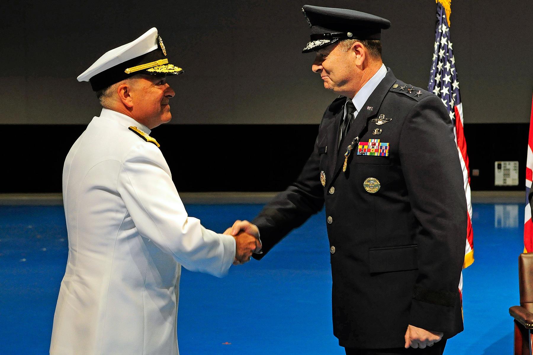 Naval officer takes over F-35 program as Bogdan retires