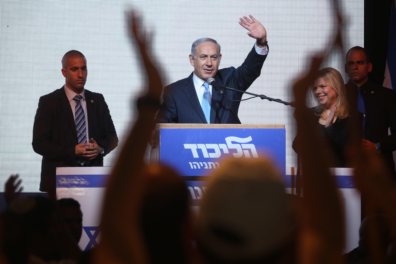 Netanyahu U0026 39 S Win Imperils Two State Peace