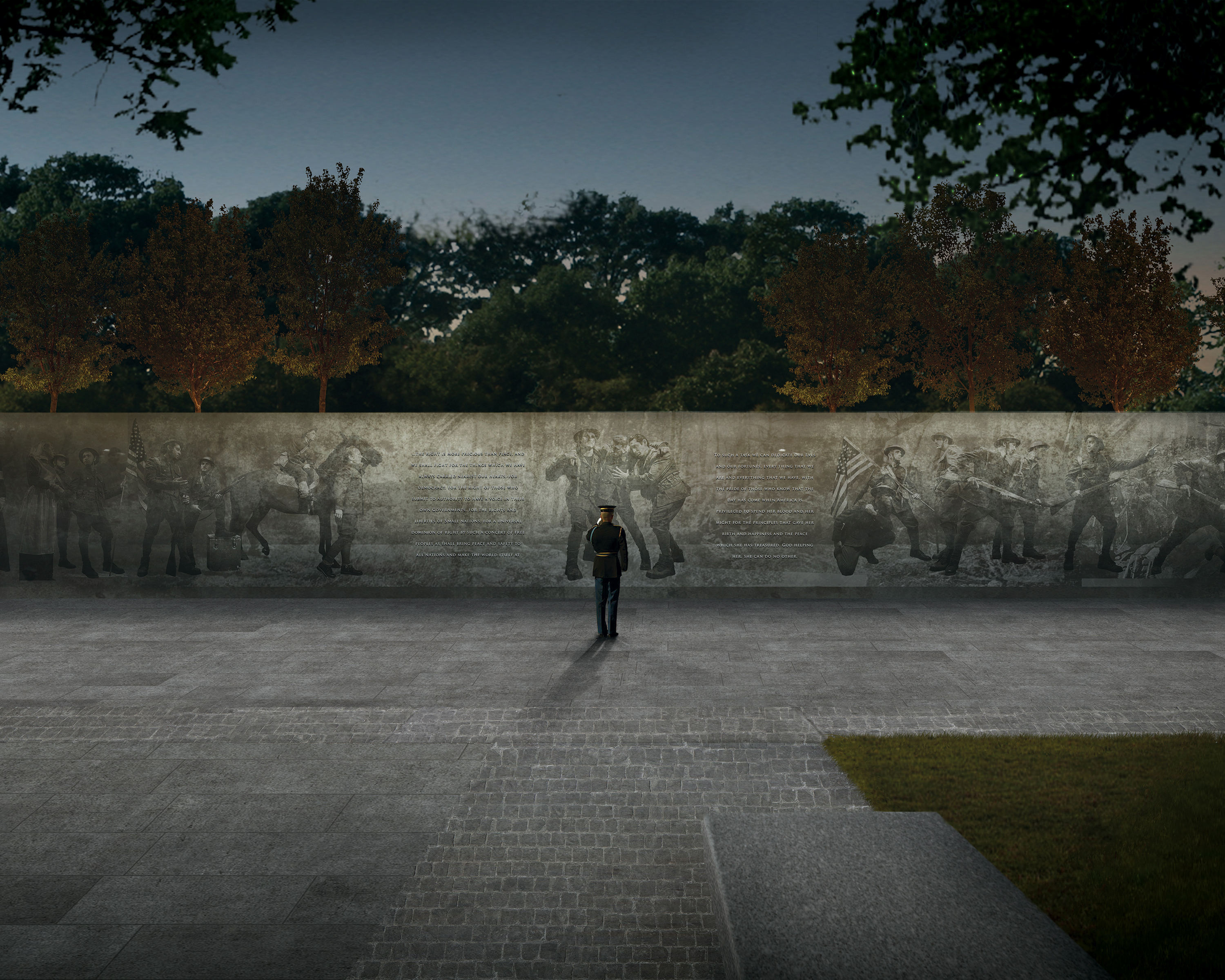 World War I Centennial Commission selects design for D.C. memorial