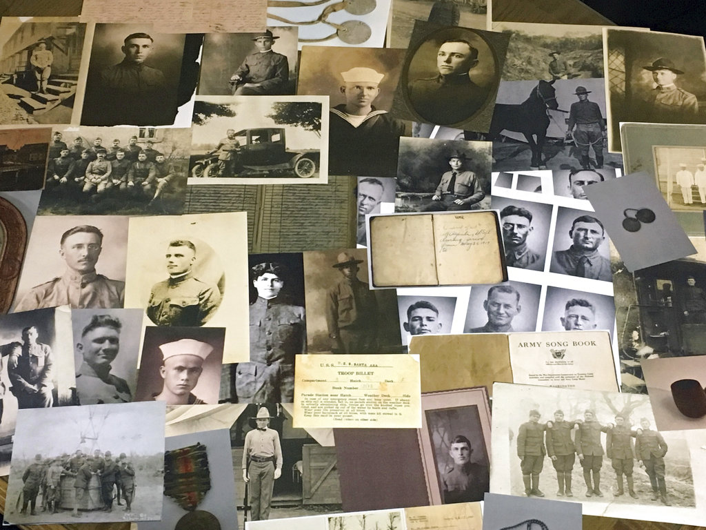 Groups seek information on World War I vets from families