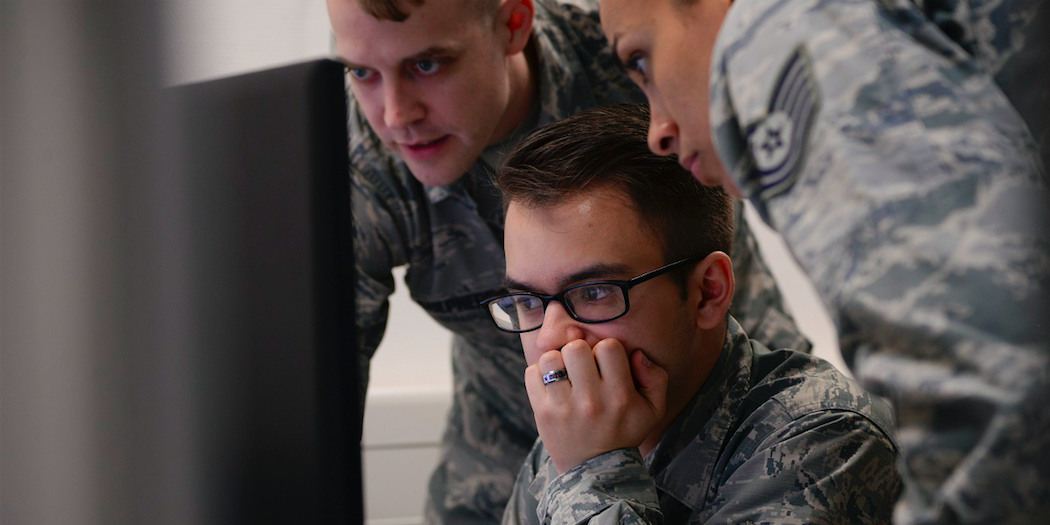 The Air Force is looking to create more efficiencies in a future data and network centric environment. (U.S. Air Force photo by Airman 1st Class D. Blake Browning)