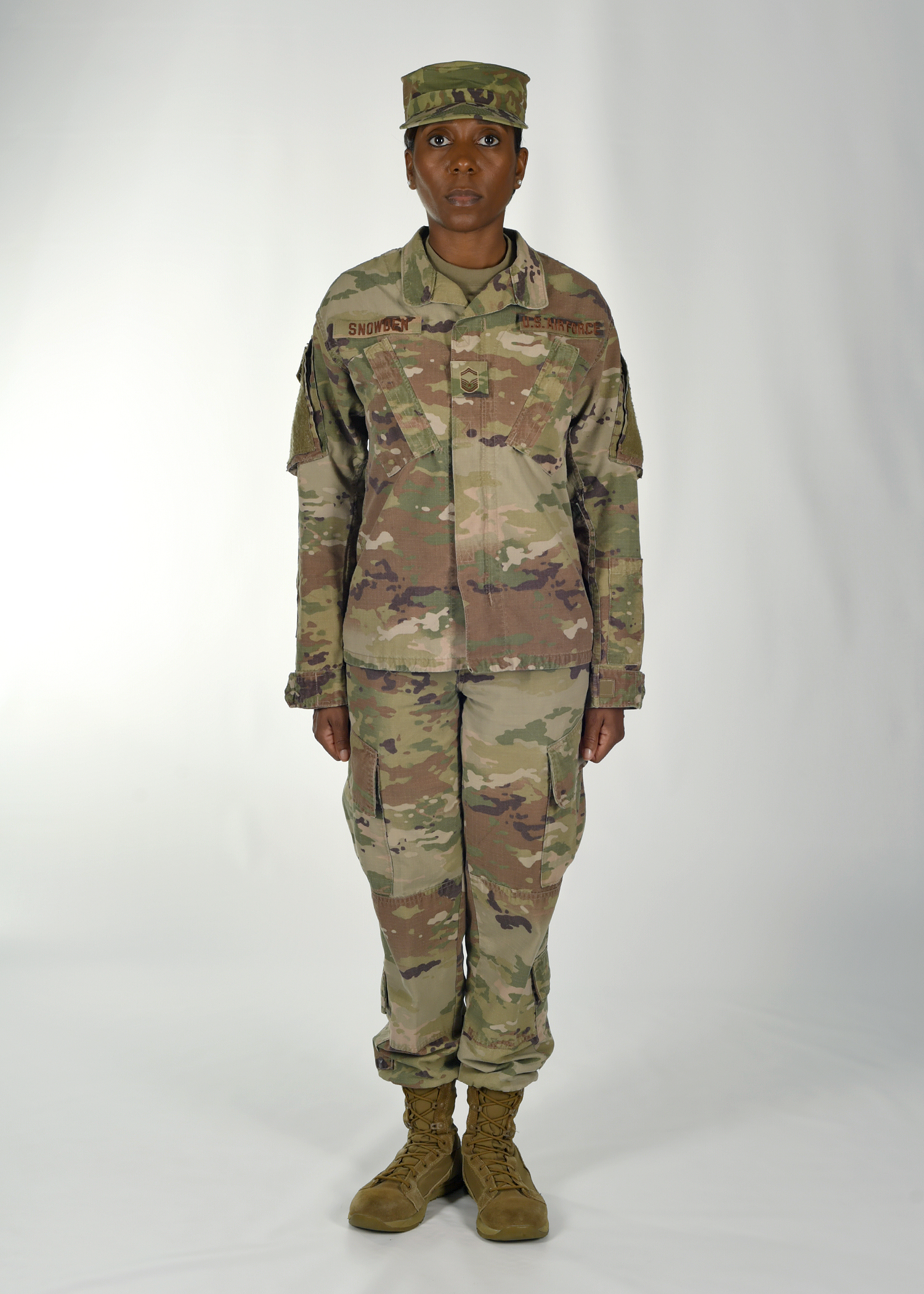 2 of 5 Airmen have long asked senior Air Force leaders to approve a switch  to the Operational Camouflage d80341256