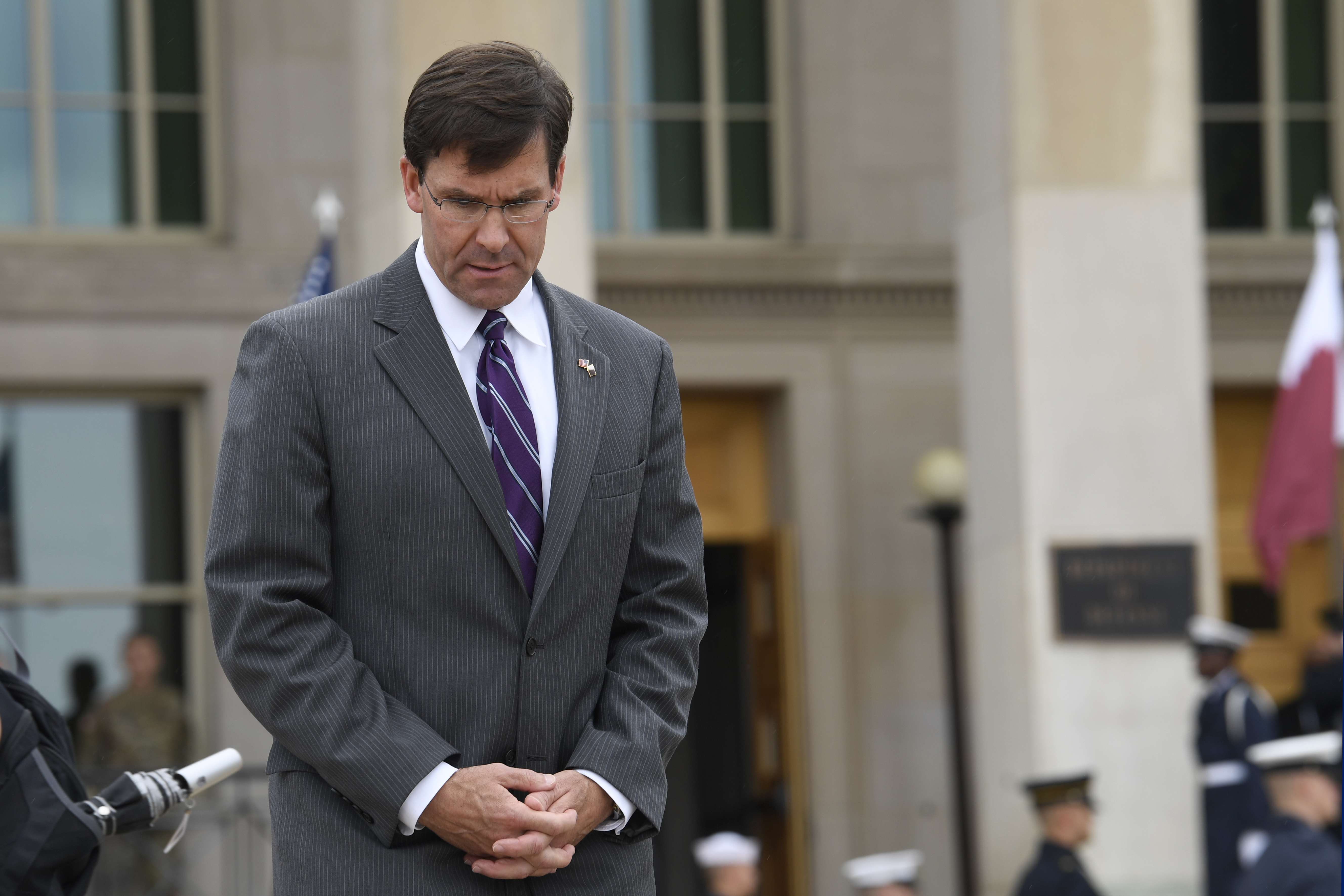 Acting Defense Secretary Mark Esper is set to receive a formal nomination for the full job. (Susan Walsh/AP)