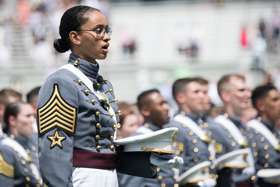 Groundbreaking West Point grad recognized as a top 10 College Woman of the Year