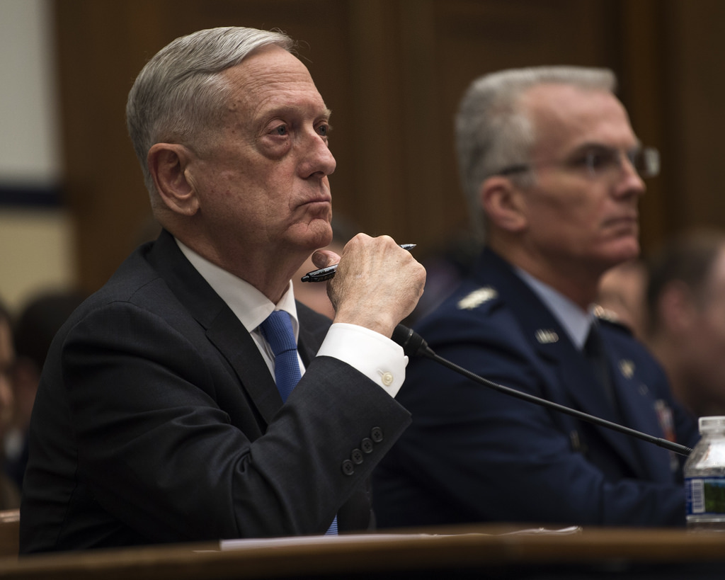 Mattis: Year-long continuing resolution would threaten troops' pay