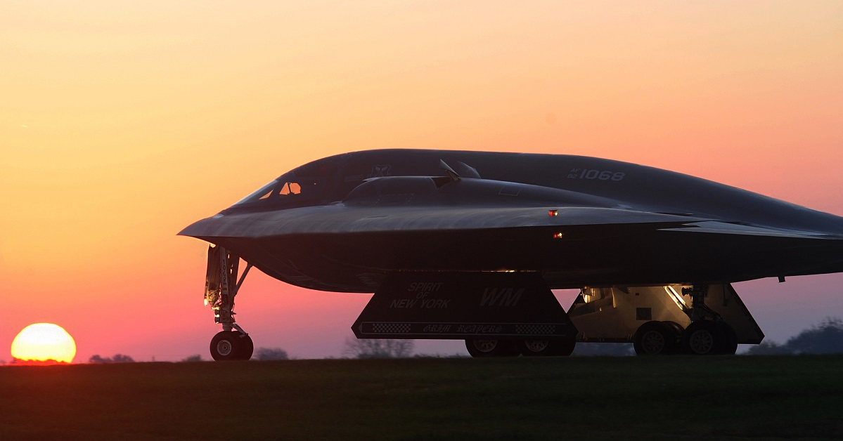The B-2 is going to influence the B-21. The question is how. (Airman 1st Class Joel Pfiester/U.S. Air Force)