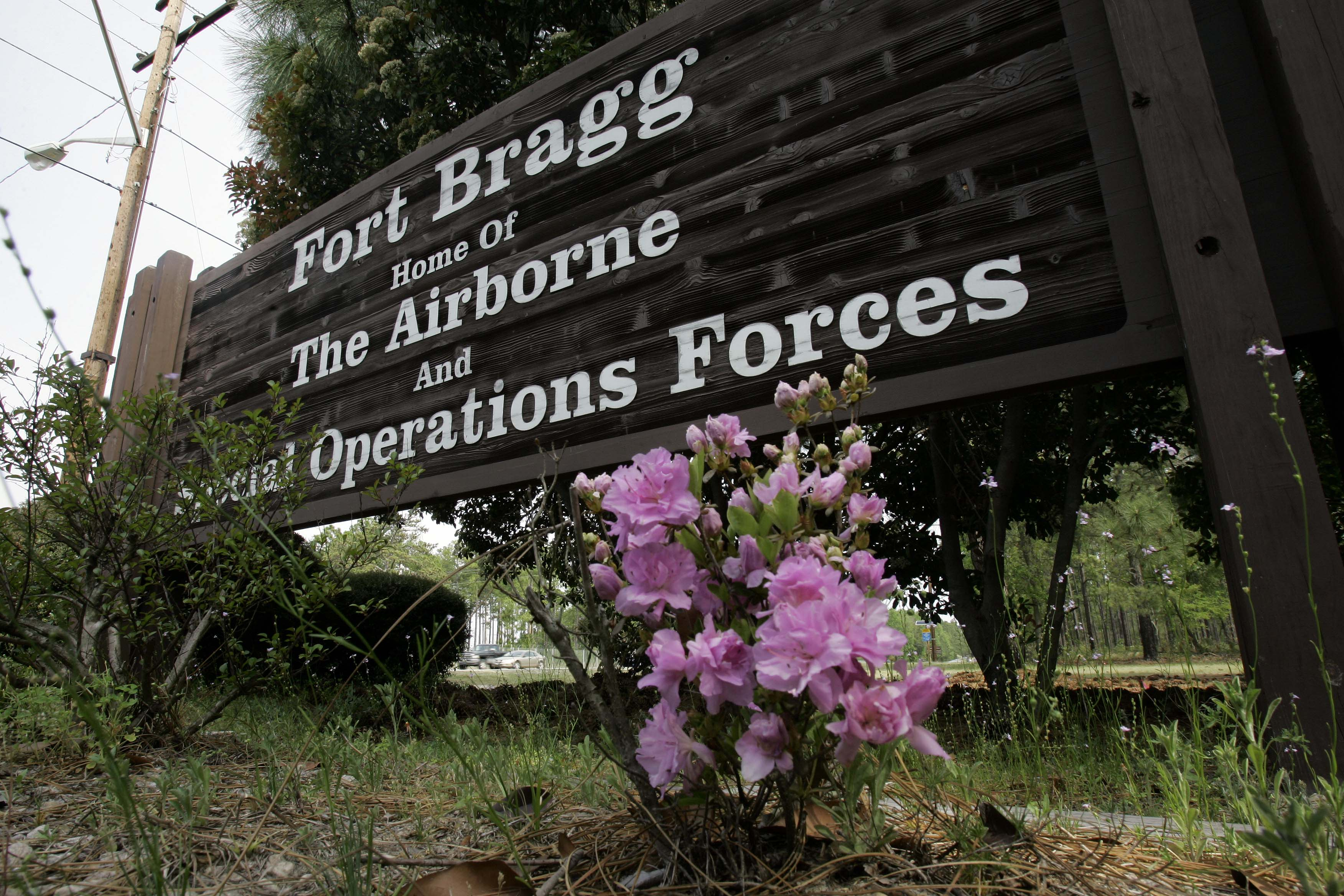 First established in 1918 as Camp Bragg, the post was named after Confederate general Braxton Bragg, a native North Carolinian. (Photo by Gerry Broome/Associated Press)