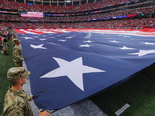Former Joint Chiefs Chairman Why We Stand For The Flag