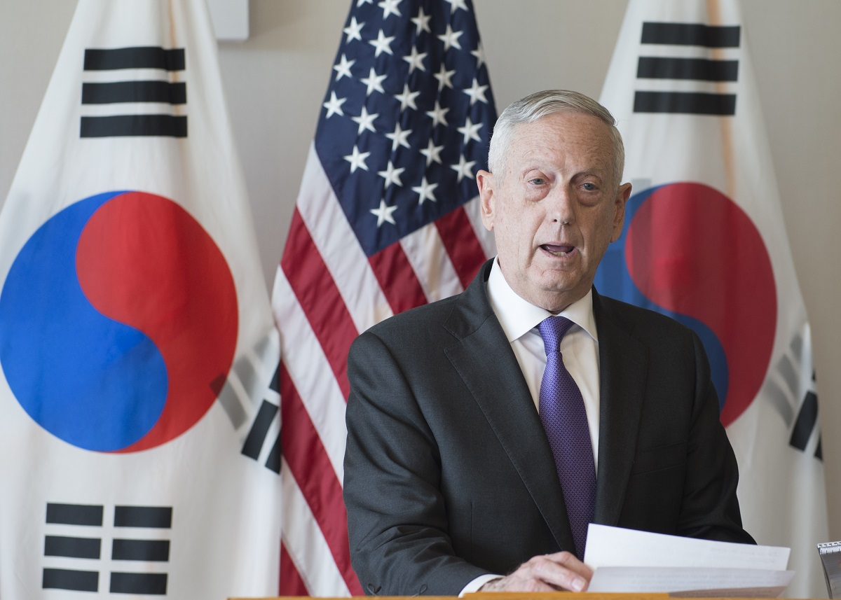 Mattis: 'Too early to tell' if Olympics will lead to North Korea breakthrough